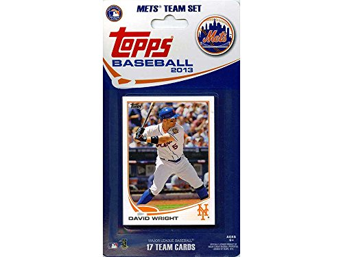 (MLB New York Mets Licensed 2013 Topps® Team Sets)