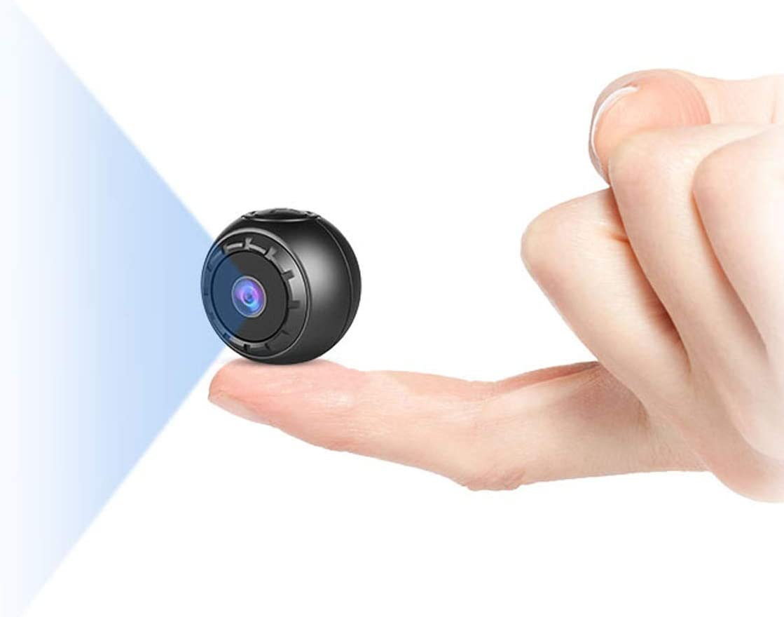 Spy Camera Wireless Hidden, NIYPS 1080P HD Mini Portable Small Secret Covert Nanny Camera with Night Vision and Motion Detection, Ultra Tiny Wireless Security Surveillance Camera for Indoor/ Outdoor