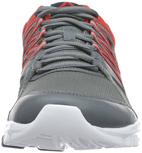 alloy Trainer De Gris Homme Reebok white Red Chaussures 0 Fitness riot Yourflex 8 5w4XCqz