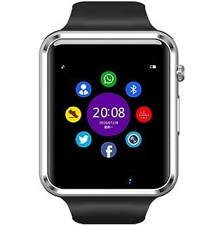 Montre Connectée pour Smartphone Apple iOS Android et Windows Bluetooth 4.0 Montre Intelligente, Rythme Cardiaque