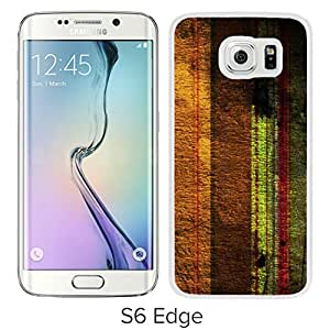 New Beautiful Custom Designed Cover Case For Samsung Galaxy S6 Edge With Scratched Stripes (2) Phone Case