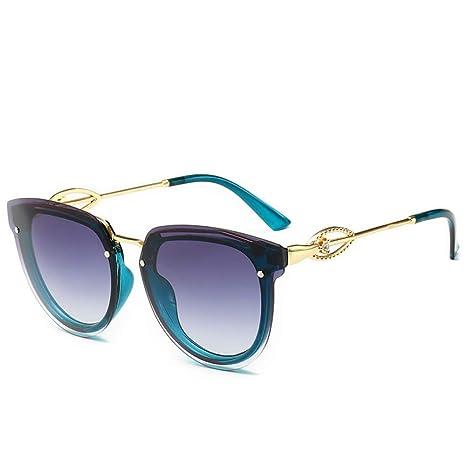 Yangjing-hl Gafas de Sol de Moda Personalidad Gafas de Sol ...