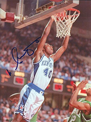 Autographed Walter McCarty University of Kentucky Wildcats 8x10 photo -