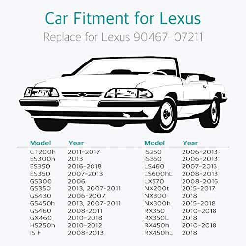 80 Fender Engine Cover Radiator Retainer Clip for Lexus ES350 GS300 GS350 IS F