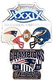 Super Bowl XXXIX Oversized Commemorative Pin