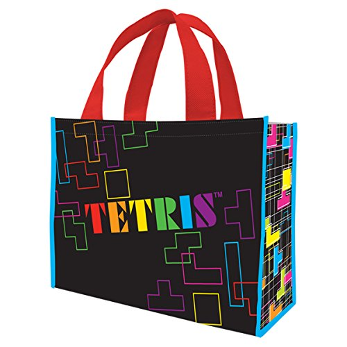 Vandor 77073 TETRIS Large Recycled Shopper Tote, Multicolored