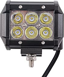 OZ America (Pack of 4Pcs) 18w CREE LED Work Light Bar Spot Beam 4\