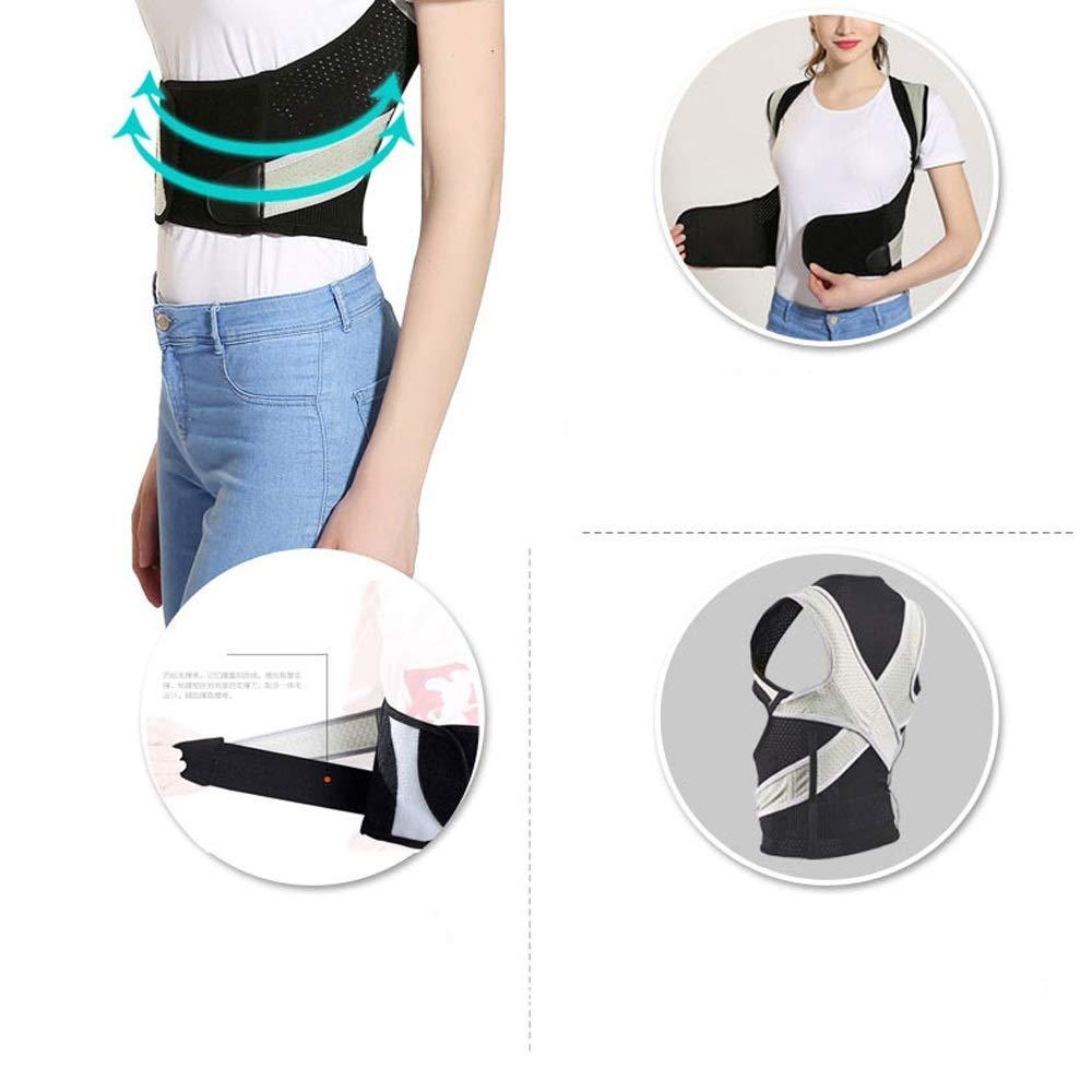 BLWX - Student Kyphosis Correction Adult Posture Correction Breathable Correction Clothing Men and Women Humpback Correction Belt (Size : M) by BLWX-Humpback correction belt (Image #4)