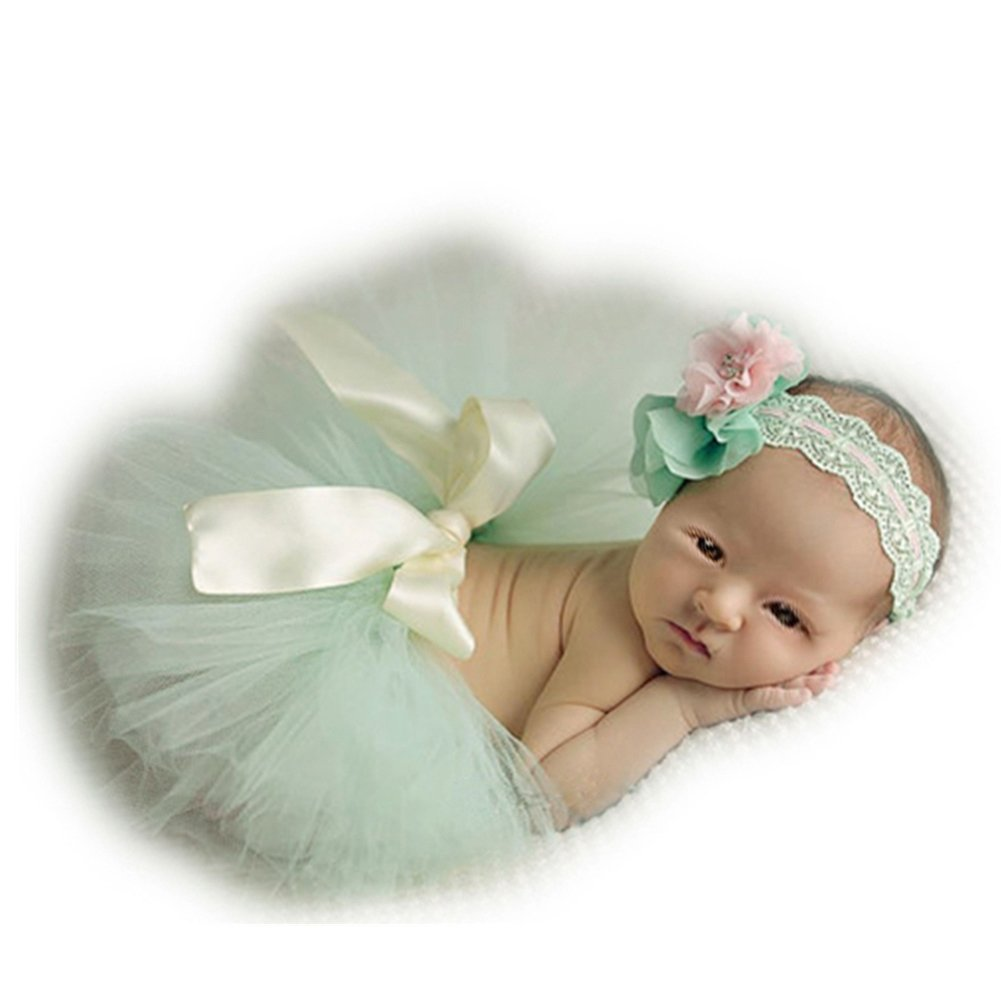 Newborn Baby Photo Props Tutu Dress Outfits Photography Shoot Clothing for Boys Girls Vemonllas JNA-001