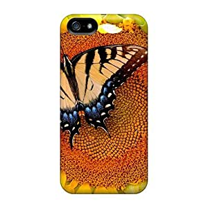 DeannaTodd Protector Specially Made For SamSung Note 3 Phone Case Cover Sunflower Butterfly