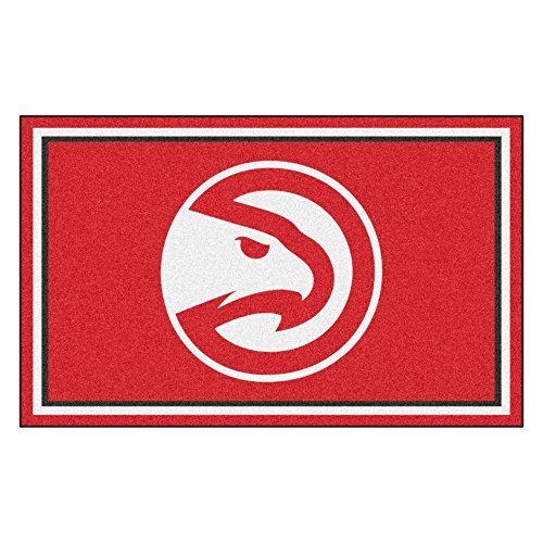FANMATS 20418 44''x71'' Team Color NBA - Atlanta Hawks Rug by Fanmats