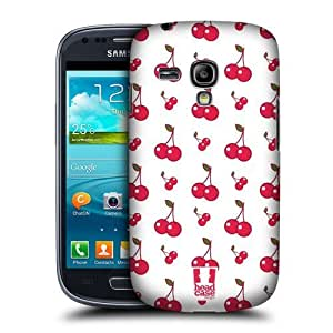 lintao diy AIYAYA Samsung Case Designs Cherries Fruit Patterns Protective Snap-on Hard Back Case Cover for Samsung Galaxy S3 III mini I8190