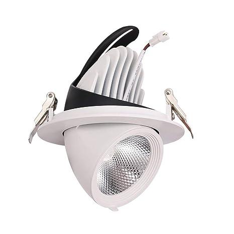 LED Incrustado Downlight Focos de techo Lámpara de araña ...