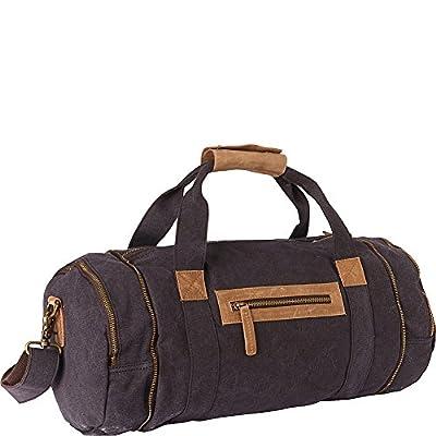 02963b56b230 chic Vagabond Traveler Classic Medium Canvas Duffle Gym Bag - webcam ...