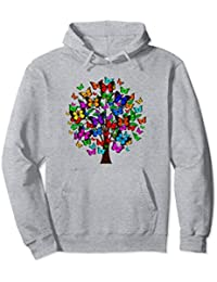 Butterfly Tree Hoodie, Butterflies Hoodie, Butterfly Jacket