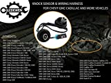 Dual Knock Sensors with Wiring Harness Kit | for