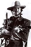 Clint Eastwood - Guns - 24x36 Poster