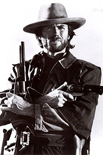 (Clint Eastwood Poster 24 x 36in)