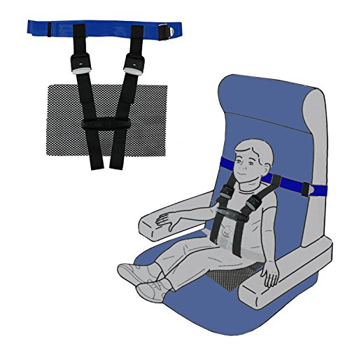 Children Care Harness Safety Airplane Restraint System with Non-Slip Drying Mat For Kids/Toddlers/Children by BabyKim by BabyKim