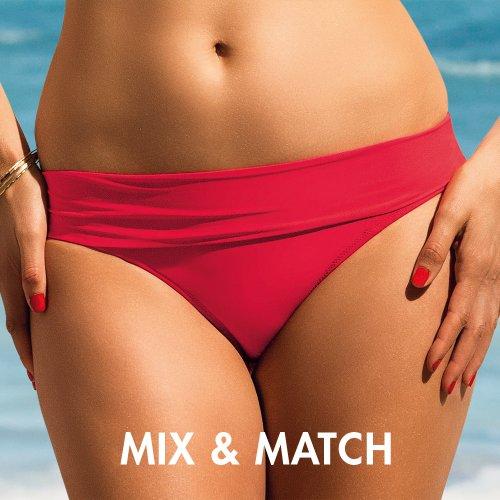 Rosa Faia Island Hopping - Braguita de bikini para mujer Rojo (Fragola)
