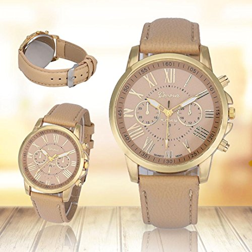 Women's Geneva Butterfly Rhinestone Stainless Steel Watch Gold - 4