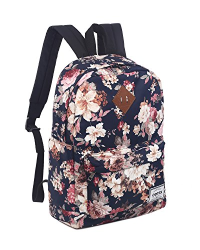 ODTEX Backpack Fits for 15 inch laptop and Tablet Navy Blue