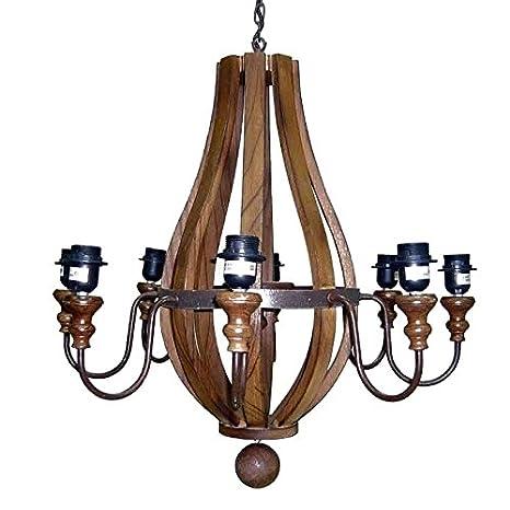 Better & Best Lámpara de techo con 8 luces, con forma de ...