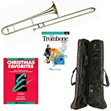 Play Trombone Today Deluxe Pack - Includes Bb Tenor Trombone, Self-Teaching Method DVD & Essential Elements Christmas Favorites