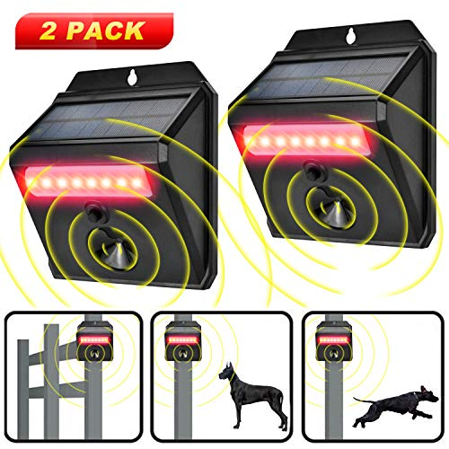 Wikomo Outdoor Effective Device for Cats, Dogs, Squirrels, Moles, Rats New Version 2019