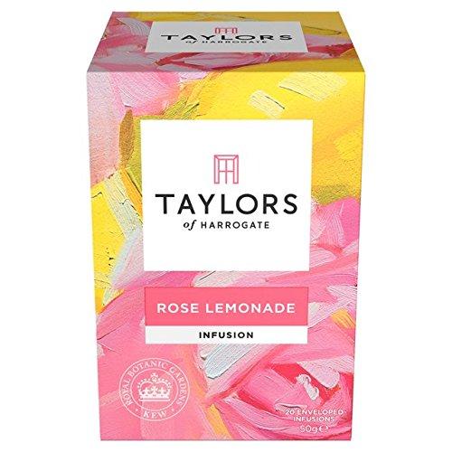 Taylors of Harrogate Rose Lemonade Infusion, 20 Count (Roses Botanic)