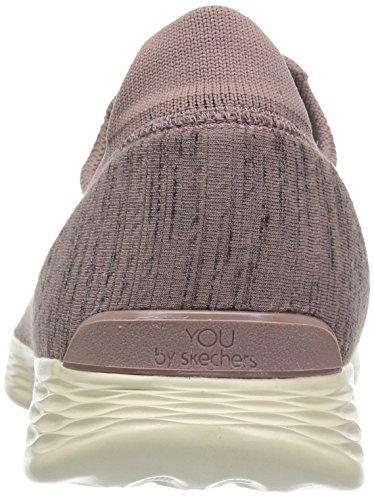 Skechers Womens You Zen Sneaker Mauve