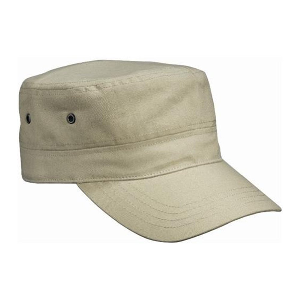 a81a714a Amazon.com: Cool Unisex Casual Sports Cap Army Military Cap Flat-top Cap Hat  (Khaki): Clothing
