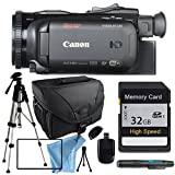 Canon VIXIA HF G40 HFG40 with Tripod, 32GB SD Class 10 Memory Card, Camera Case, USB Card Reader & More
