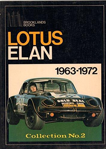Lotus Elan Collection No.2, 1963-72 (Brooklands Books Road Tests Series) R. M. Clarke