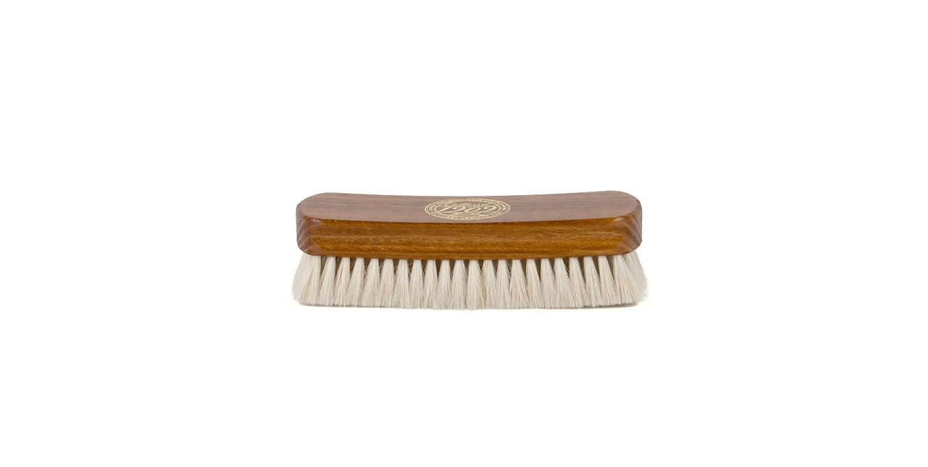 Collonil Goat Hair Leather Shine Brush 6'' For High Gloss Shine On Leather Shoes Handbags Clothes by Collonil (Image #2)