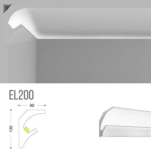 el201 - Velo para luz indirecta difusa LED de Techo ...