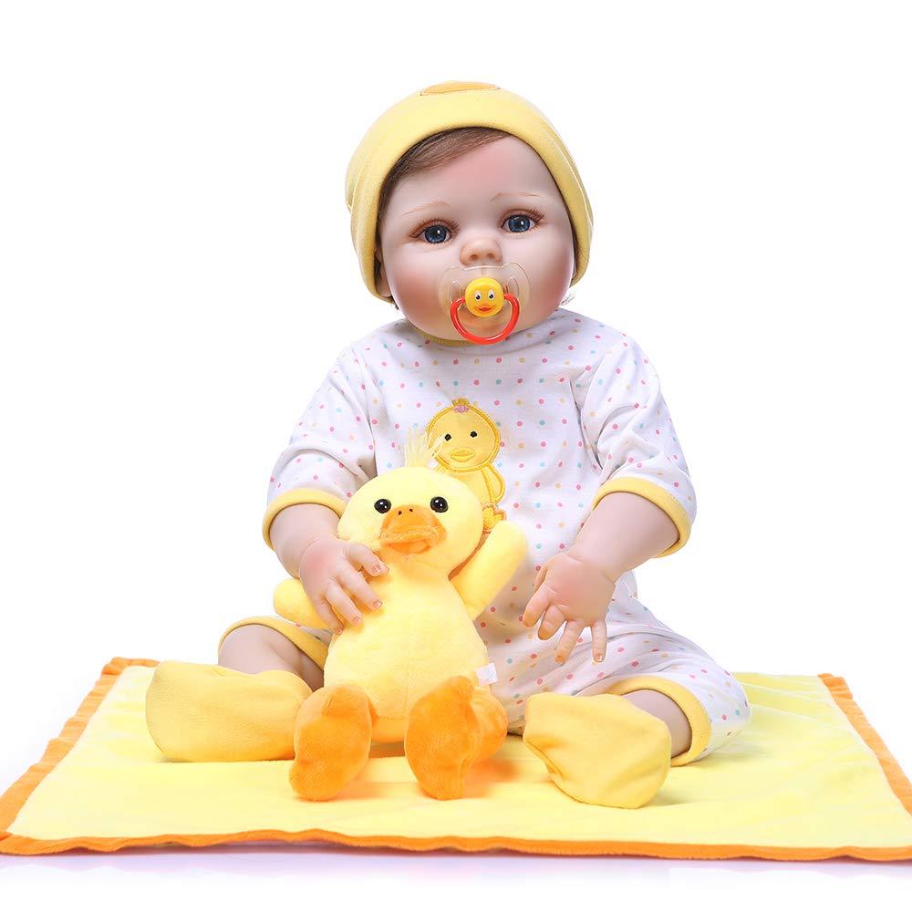 速くおよび自由な Pinky ハンドメイド フルボディ 23インチ 新生児 57cm B07GGS64QK 生きているようなリボーンベビードール フルボディ ソフトシリコン人形 リアルなルック 新生児 リアルなタッチのかわいい人形 幼児の誕生日とクリスマスプレゼントに PK-22NPK06021819 フルボディ B07GGS64QK, 暮らし健康ネット館:68c8ec91 --- pmod.ru