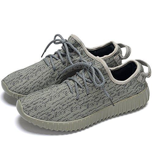 Para hombre zapatillas gimnasio Walking zapatillas Fitness deportes de ligero zapatillas de running, color verde, talla 41 EU