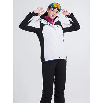 GJBXP Traje de esquí Chaquetas de Snowboard para Mujer + ...
