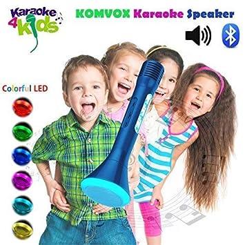 Amazon Com Kids Children S Microphone Handheld Bluetooth Karaoke