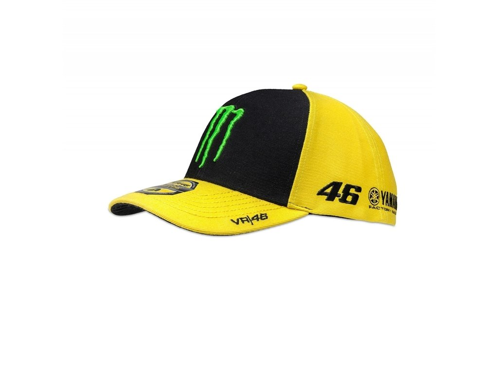 VR46 Hombre Rossi Béisbol Sponsor Cap, Yellow, One Size: Amazon.es: Deportes y aire libre