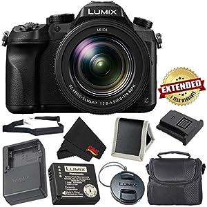 PANASONIC LUMIX DMC-FZ2500 4K Point and Shoot Camera w/20X Leica DC Vario-ELMARIT F2.8-4.5 Lens - International Version - Bronze Bundle