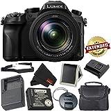 PANASONIC LUMIX DMC-FZ2500 4K Point and Shoot Camera w/20X LEICA DC Vario-ELMARIT F2.8-4.5 Lens - International Version (No Warranty) - Bronze Bundle