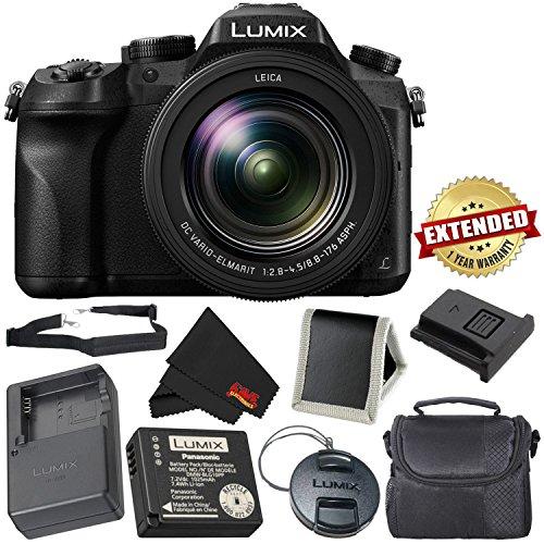 PANASONIC LUMIX DMC-FZ2500 4K Point and Shoot Camera w/20X LEICA DC Vario-ELMARIT F2.8-4.5 Lens - International Version (No Warranty) - Bronze (Panasonic Lumix Warranty)