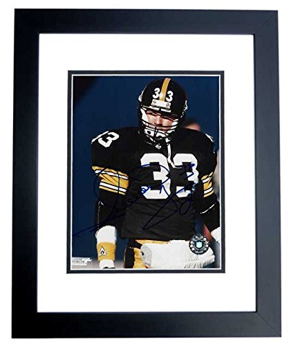 Image Unavailable. Image not available for. Color  Merrill Hoge Signed -  Autographed Pittsburgh Steelers 8x10 ... 83841564c