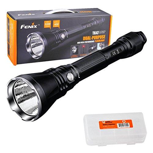 Fenix TK47UE Ultimate Edition 3200 Lumen LED Tactical Flashlight w/ LumenTac Battery Organizer by Fenix