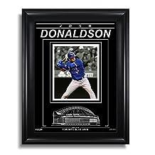 Josh Donaldson Toronto Blue Jays Engraved Framed Photo - Spotlight V