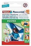 Tesa 58003-00079-04 Poster Powerstrips (Pack of 20)