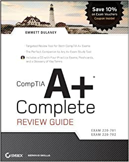 Book CompTIA A+ Complete Review Guide: Exam 220-70/Exam 220-702 Pap/Cdr Edition by Dulaney, Emmett published by John Wiley & Sons (2009)