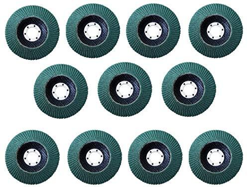 Proteco/® Top F/ächerschleifscheiben 150 mm Schleifteller F/ächerscheiben Schleifmopteller f/ür Stahl Holz Korn 40 sehr grob, 10